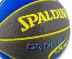 SPALDING NBA Crossover Composite Leather Basketball - Size 7 4
