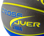 SPALDING NBA Crossover Composite Leather Basketball - Size 7 5