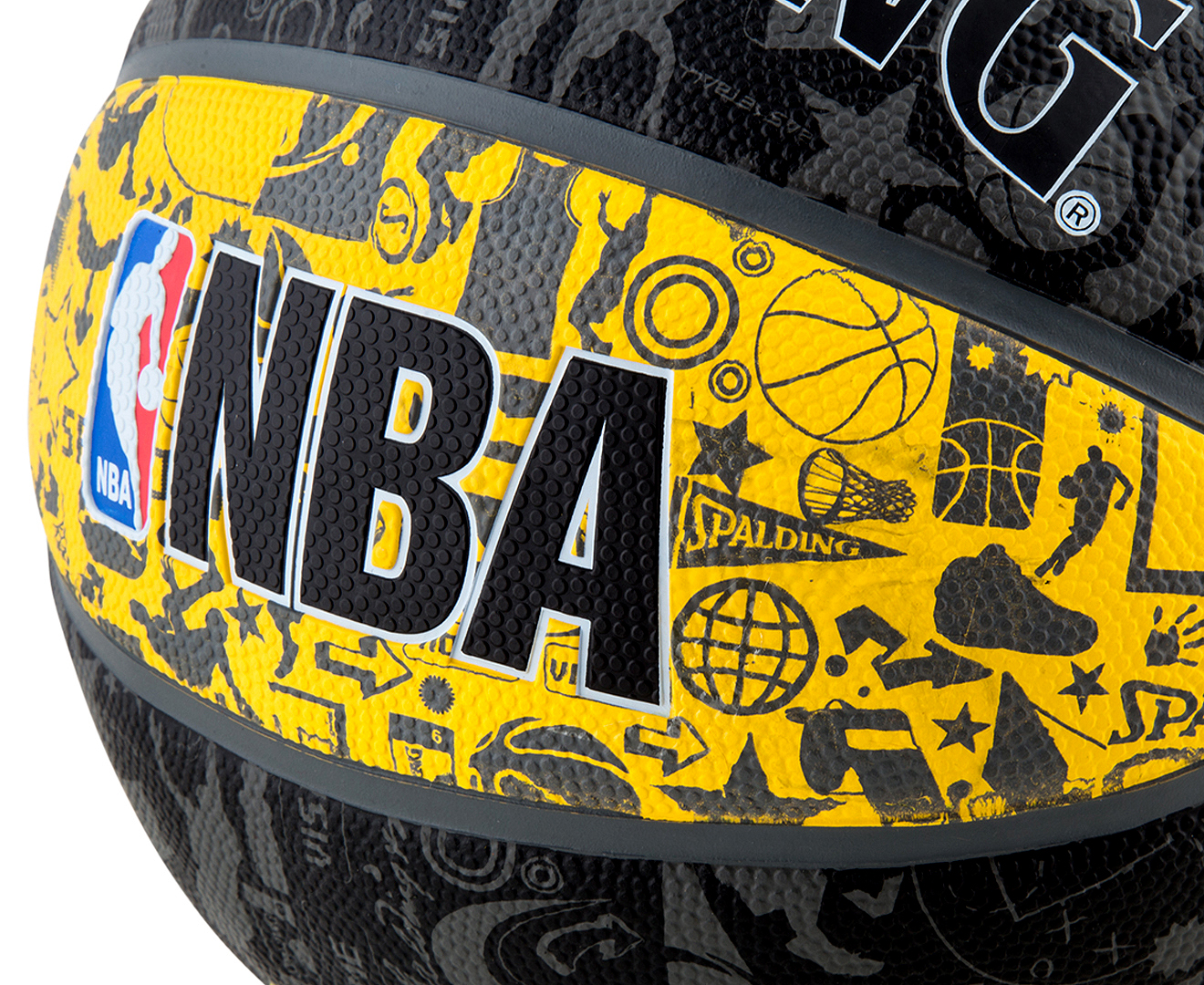 SPALDING NBA Graffiti Basketball - Size 7 | eBay