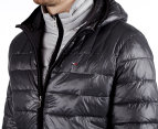 Tommy Hilfiger Men's Packable Flag Puffer Jacket w/ Hood - Charcoal  6