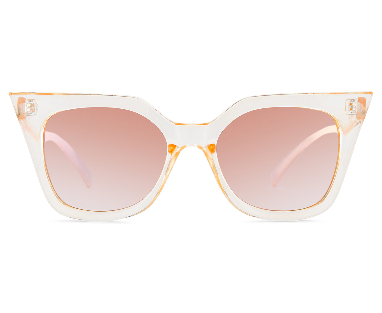 2d77d70e9f25a Quay Australia Women s Cat Eye Harper Sunglasses - Gold Gold