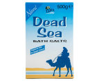2 x Tara Dead Sea Natural Bath Salts 500g 2