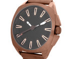 Unit Men's 49mm Assault Watch - Bronze/Black 4