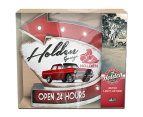 Holden Garage Light Up Sign - Red/White 2