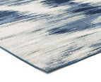 Rug Culture 280x190cm Chelsea Sedrick Super Soft Power Loomed Modern Rug - Blue 2