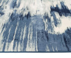 Rug Culture 280x190cm Chelsea Sedrick Super Soft Power Loomed Modern Rug - Blue 3