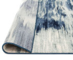 Rug Culture 280x190cm Chelsea Sedrick Super Soft Power Loomed Modern Rug - Blue 4