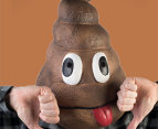 Madheadz Koolface Smiling Poo Party Mask - Brown 4