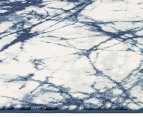 Rug Culture 400x300cm Chelsea Claire Super Soft Power Loomed Modern Rug - Blue 2