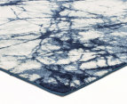 Rug Culture 400x300cm Chelsea Claire Super Soft Power Loomed Modern Rug - Blue 3