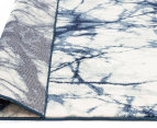 Rug Culture 400x300cm Chelsea Claire Super Soft Power Loomed Modern Rug - Blue 4