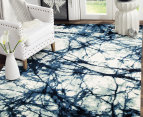 Rug Culture 400x300cm Chelsea Claire Super Soft Power Loomed Modern Rug - Blue 5