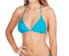 Seafolly Women's Shimmer Slide Triangle Bra - Eden 1