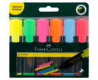 Faber-Castell Textliner Super Fluorescent Highlight Markers 6-Pack - Multi 1