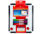Faber-Castell Whiteboard and Magnetic Markers Set - Multi Coloured 1