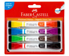 Faber-Castell Magnetic Whiteboard Markers 4-Pack - Multi 1