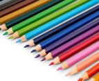 Faber-Castell Triangular Junior Colour Pencils 20-Pack w/ Sharpener - Multi 3
