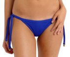 Seafolly Women's Brazilian Tie Side - Blue Ray 1