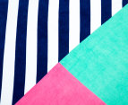 Round Sail 150cm Premium 100% Cotton Beach Towel - Multi 3