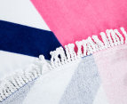 Round Sail 150cm Premium 100% Cotton Beach Towel - Multi 6