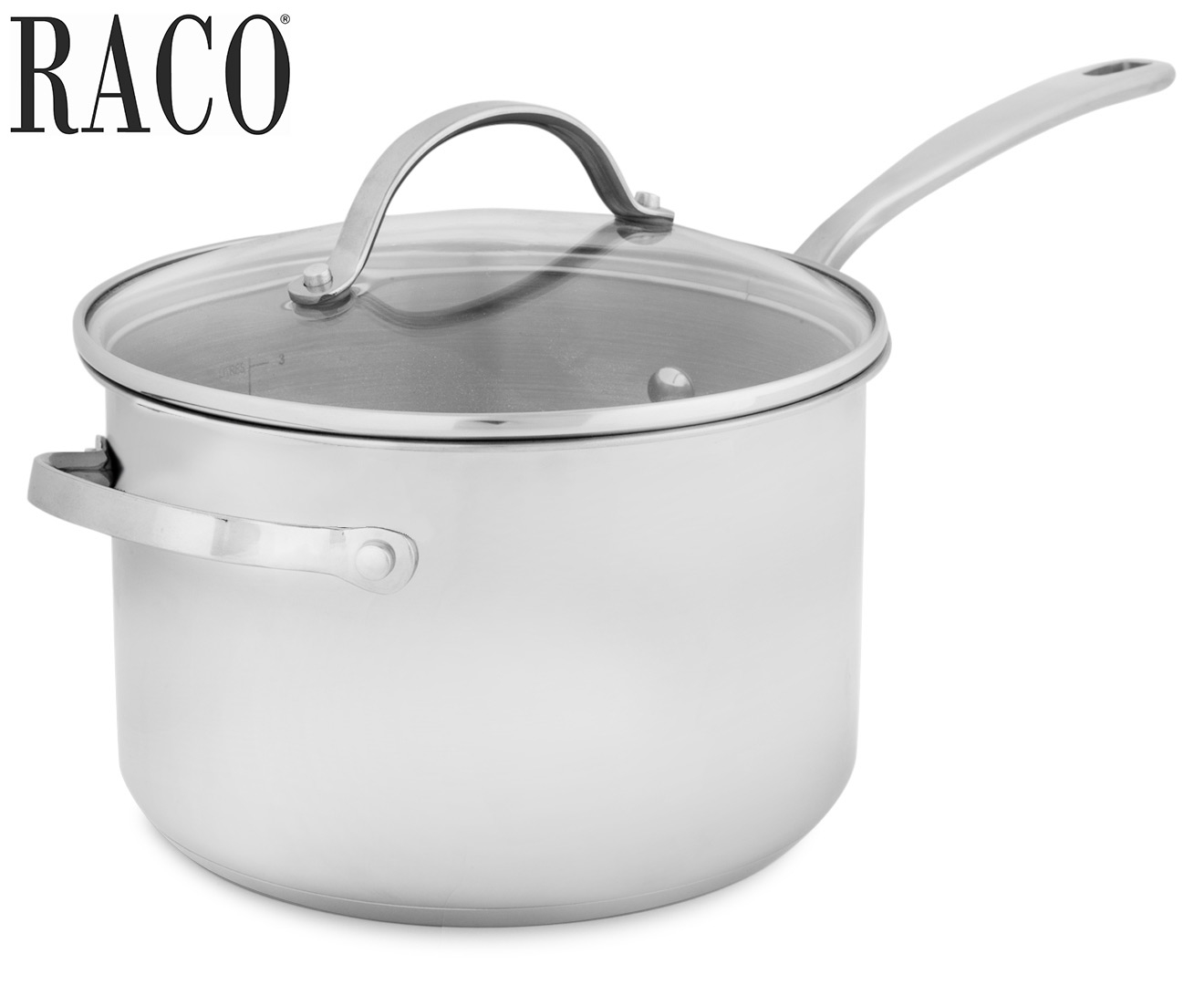 how to clean a burnt raco saucepan