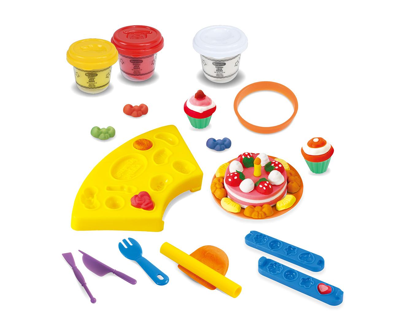 Crayola Modeling Dough Kit Baker S Delight Playset