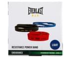 Everlast Resistance 6.8-15.9kg Light Powerband - Navy  2