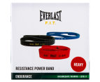 Everlast Resistance 29.5-79.4kg Heavy Powerband - Red  2