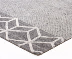 Rug Culture 320x230cm Visions Pulse Modern Rug - Grey 2