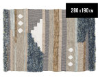 Rug Culture 280x190cm Everest Fusion Rug - Multi 1