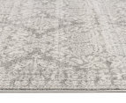 Rug Culture 300x80cm Mirage Modern Runner Rug - Silver/Grey 3