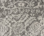 Rug Culture 300x80cm Mirage Modern Runner Rug - Silver/Grey 4