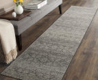 Rug Culture 300x80cm Mirage Modern Runner Rug - Silver/Grey 6