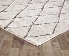 Rug Culture 230x160cm Capri Natural Rug - Choc/Natural 2
