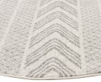 Rug Culture 240cm Mirage Modern Round Rug - Grey 2