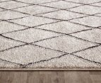 Rug Culture 230x160cm Capri Natural Rug - Choc/Natural 3