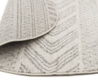 Rug Culture 240cm Mirage Modern Round Rug - Grey 4