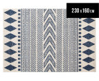 Rug Culture 230x160cm Mirage Modern Rug - Navy 1