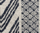 Rug Culture 230x160cm Mirage Modern Rug - Navy 4