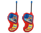 Paw Patrol Walkie Talkie Set - Red/Blue 2