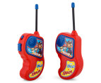 Paw Patrol Walkie Talkie Set - Red/Blue 3