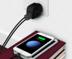 mbeat GorillaPower DUO 3.4A Dual-Port USB Smart Charger - Black 4