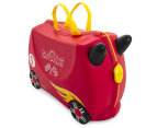 Trunki Kids' Rocco Race Car Ride-On Suitcase - Red  1