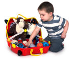 Trunki Kids' Rocco Race Car Ride-On Suitcase - Red  2