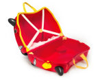 Trunki Kids' Rocco Race Car Ride-On Suitcase - Red  4