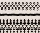 Rug Culture 320x230cm Studio Modern Rug - Black/White 4