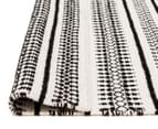 Rug Culture 320x230cm Studio Modern Rug - Black/White 5