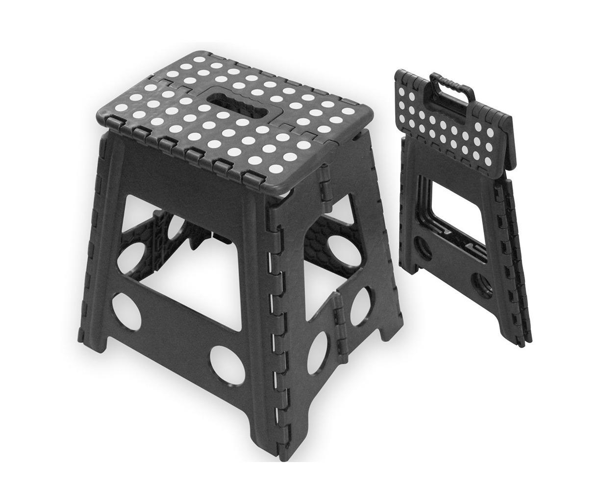 Folding Step Stool Portable Plastic Foldable Chair Store