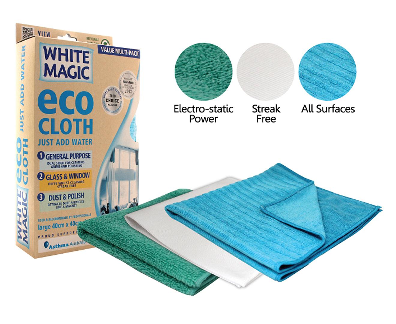 White Magic Eco Cloth Value Multi Pack Scoopon Shopping