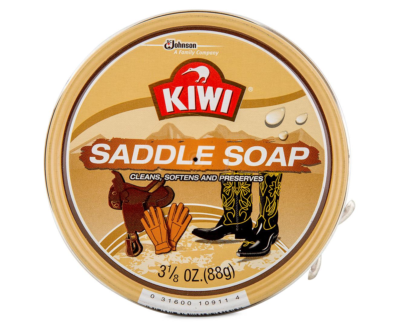 Kiwi Saddle Soap On Dress Shoes